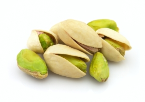 Heap of pistachio
