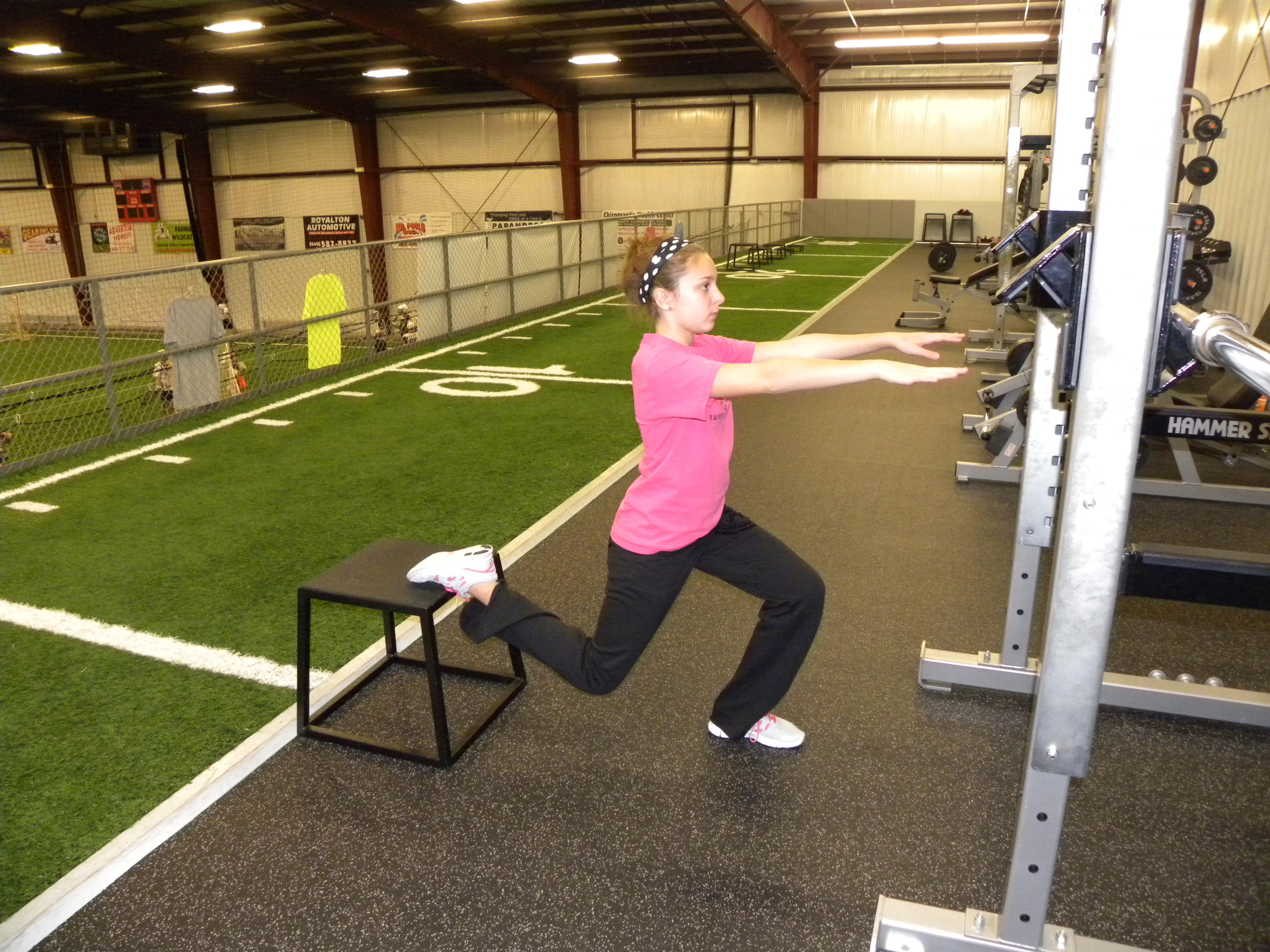 Bulgarian split squat   Athletic Performance Training Center