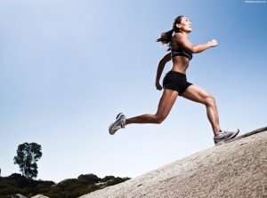 Athletic-Woman-Running-Images