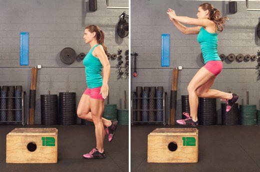 Single Leg Vertical Power Jumps 70